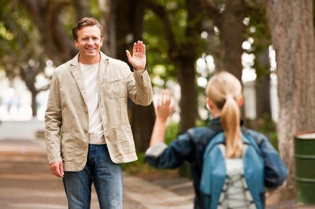 como funciona o direito de visitas para pais separados