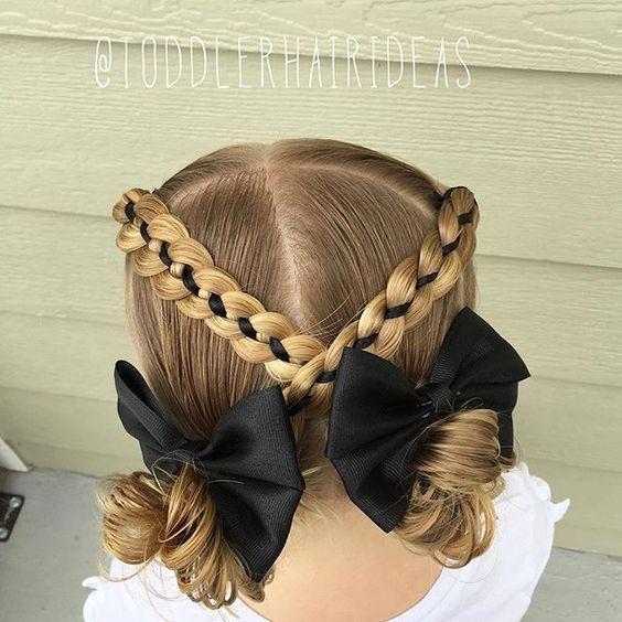 penteados para meninas