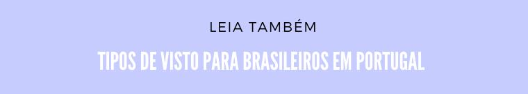 Vistos para brasileiros em Portugal